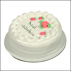 Click here for more on Vanilla round - 1 kg Fresh Cream Cake