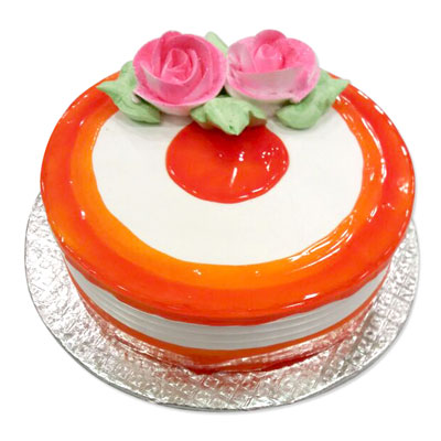 Click here for more on Delightful Vanilla Flavor - 1kg cake