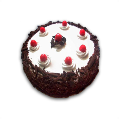 Click here for more on Black Forest Cake - half Kg