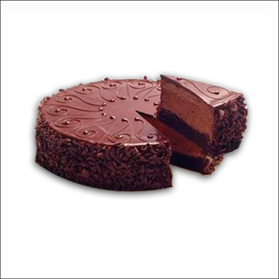 Click here for more on Delicious chocolate cake - half kg