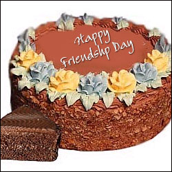 Friendship Day Special Chocolate Delight Cake