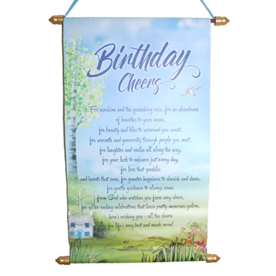 Click here for more on Birthday Message Scroll -902-code005