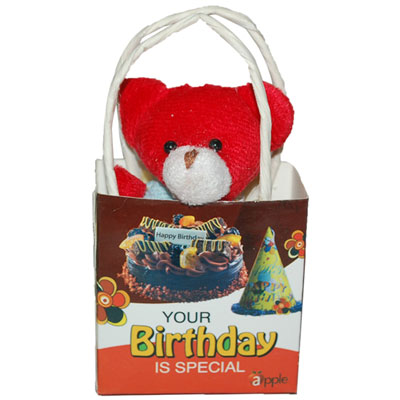Click here for more on Birthday Teddy With Bag -1267