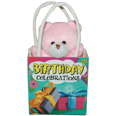 Click here for more on Birthday Celebrations Teddy With Bag -1267