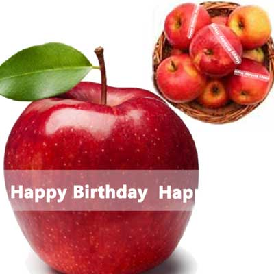 Click here for more on Talking Apples with Birthday Message