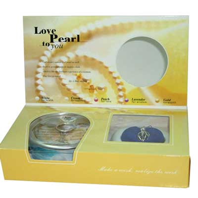 Love pearl Chain Set (Yellow Color)