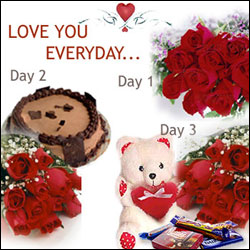 Click here for more on Love u everyday my valentine