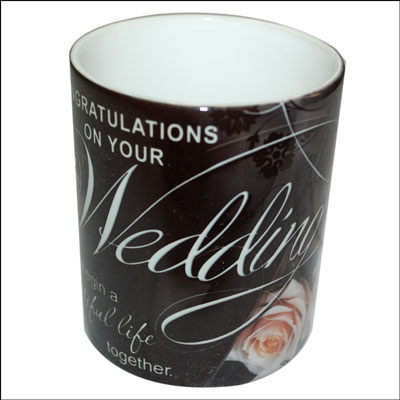 Mug with Message (Wedding)