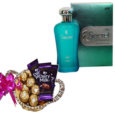 Click here for more on Gifts 4 Bride Hamper - codeB41