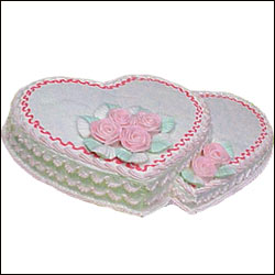 Click here for more on Heart Shaped cakes