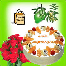 Click here for more on Ugadi Hamper - 2