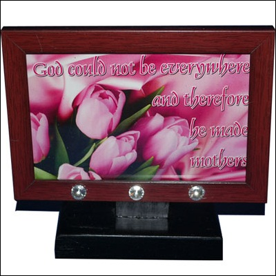 Click here for more on Quotation for Mother Message stand - code180-001