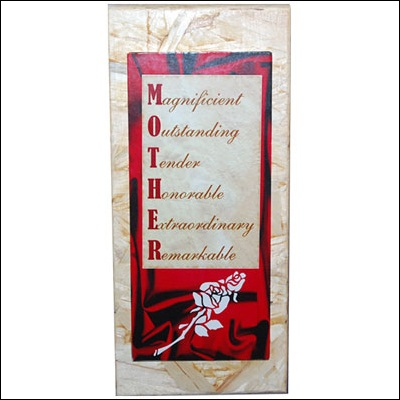 Click here for more on Quotation for Mother Message stand - code178-002