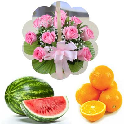 Click here for more on Fruits N Flowers Combo - MD08