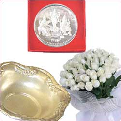 Click here for more on Flowers N Silver Combo-10