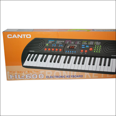 Send CANTO ELECTRONIC KEYBOARD (MODEL: HL-600) to ...