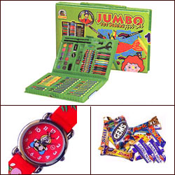 Click here for more on'Cartoon Watch nJumbo Art Hamper'