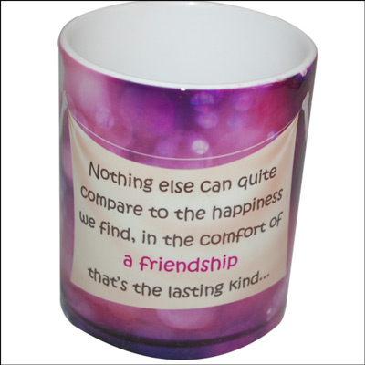 Click here for more on Friendship Message Mug - code01
