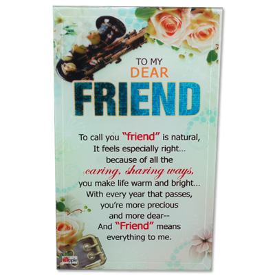 Click here for more on Friend Message Stand - 208-001