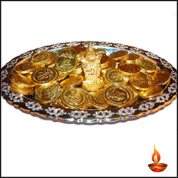 Click here for more on Special Gold coin choco Thali