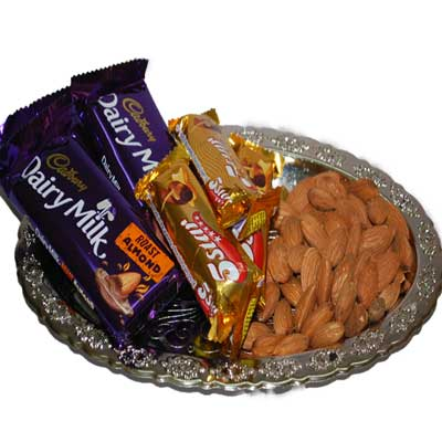 Click here for more on Drytfruit Thali - code DT13