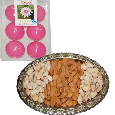 Click here for more on Diwali Dry Fruits N Diyas - code DT12