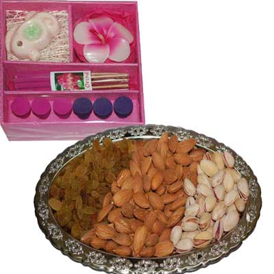 Click here for more on Diwali Dry Fruits N Diyas - code DT14