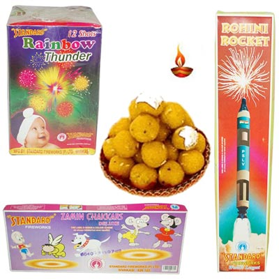 Click here for more on Crackers N Sweets Hamper - code C02