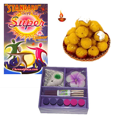 Click here for more on Diwali Crackers and Sweets - codeD02