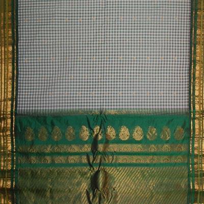 View More(Gadwal Seico Saree Rich Pallu MHG-29 (With Blouse)
