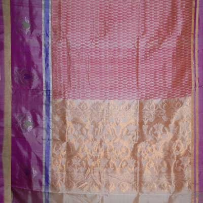 View More(Exclusive Kollam Fancy Silk Saree SCV-15 (with Blouse)