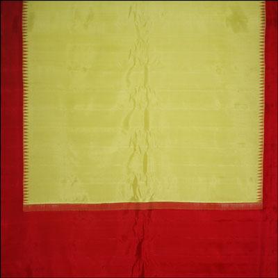 View More(Pure Silk Lemon Yellow color saree - MHM-22