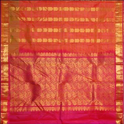 View More(Kalaneta double color Kanchi Pattu Saree RNS-31