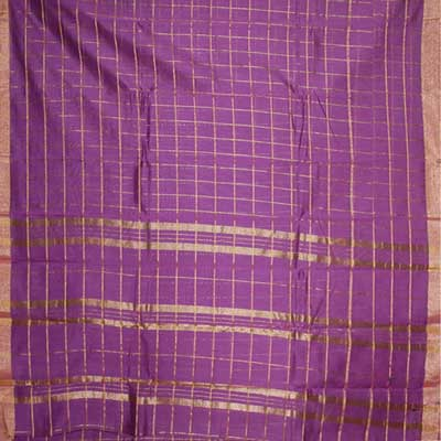 View More(Violet colour (Cotton Silk) Seiko Saree SCV-49(with blouse)