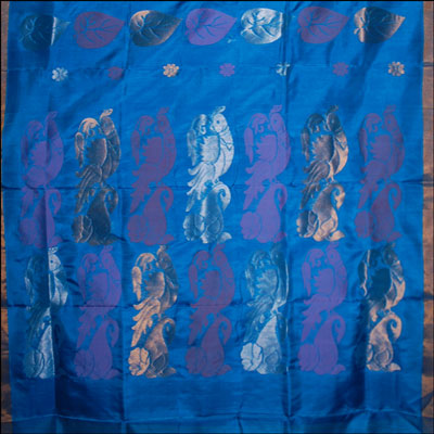 View More(Anandablue Color Uppada Pattu Saree SLU-80