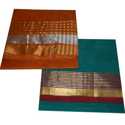 View More(Chettinadu Cotton Sarees SCV-80 N SCV 81 (Without Blouse)