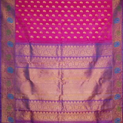 View More(Exclusive Pythani Pattu Saree SMH-25 (With Blouse)