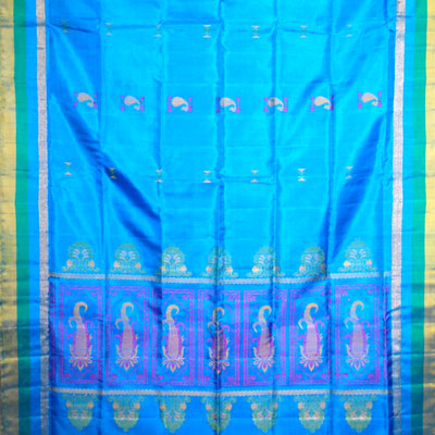 Click here for more on Exclusive Royal blue Color Coimbatore Pattu Saree NSM-11