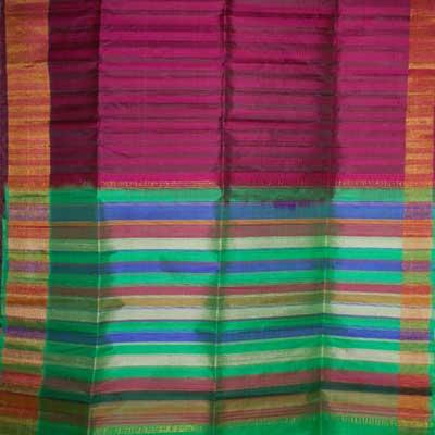 View More(Magenta colour Dupiana Pattu Saree RMT-17 (with blouse)