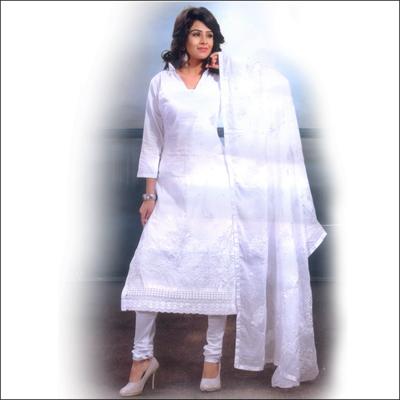 View More(White Color Designer Dress - VFP-2(Stitched)