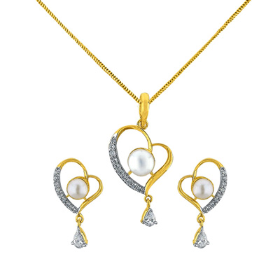 Click here for more on Dual Heart Pendent Set - JPJUN-16-238