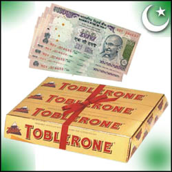 Click here for more on Cash Gift Voucher - Rs.500 ,Tobleron Chocolates