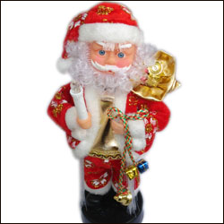 Click here for more on Musical Santa - 25 cm-60896-002