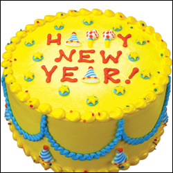 Click here for more on New Year Special Cake - 1kg