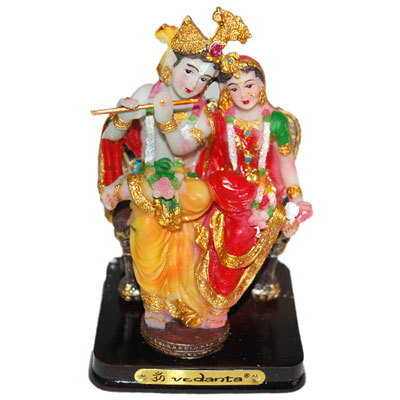 Click here for more on SITTING RADHAKRISHNA IDOL