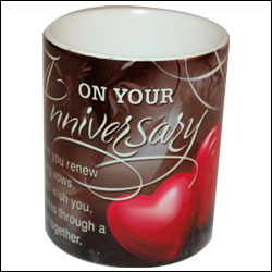 Click here for more on Anniversary Message Mug