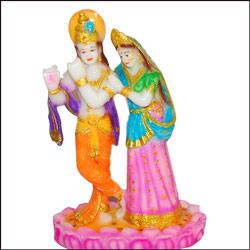 Click here for more on Radha Krishna Marble finish Idol
