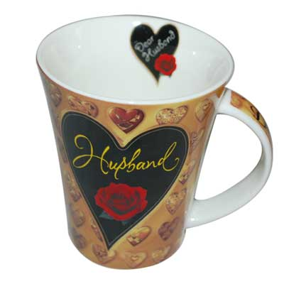 Click here for more on Mug with Heart Design and Message