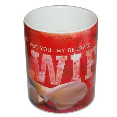 Click here for more on Mug with Message (Red color)