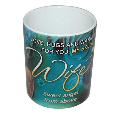 Click here for more on Mug with Message (Wife)